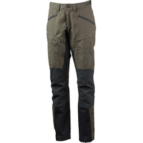 Lundhags Makke Pro Pantalon Femme, forest green/charcoal